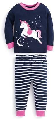 Jo-Jo Jojo Maman Bebe Skinny Unicorn Pajamas