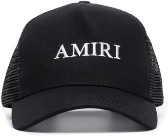 Amiri Logo Embroidered Baseball Cap