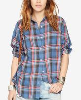 Denim & Supply Ralph Lauren Plaid Long-Sleeve Shirt