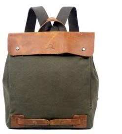 TSD BRAND Cooper Convertible Canvas Backpack