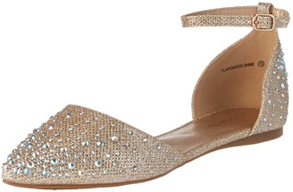 DREAM PAIRS Women's Flapointed-Shine Pump