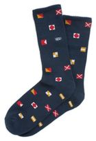 Vans Nautical Flags Crew Sock 1 Pack