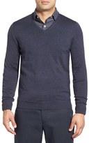 John W. Nordstrom Merino Wool V-Neck Sweater