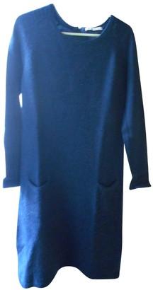 Gerard Darel Navy Wool Dress for Women