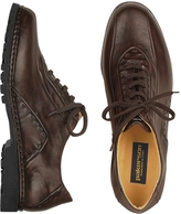 Pakerson Dark Brown Italian Handmade Leather Lace-up Shoes