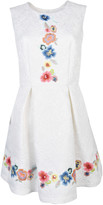 Blugirl Embroidered Floral Dress