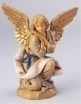 "Roman Fontanini 5"" Kneeling Angel Christmas Nativity Figurine"