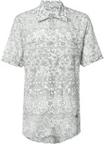 Vivienne Westwood Man floral print shortsleeved shirt