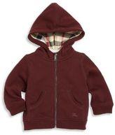 Burberry Baby's Front-Zipper Hoodie