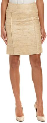 Sara Campbell Silk Pencil Skirt