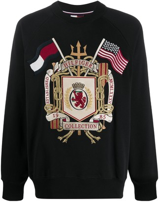 Tommy Hilfiger HCM Archive embroidered sweatshirt
