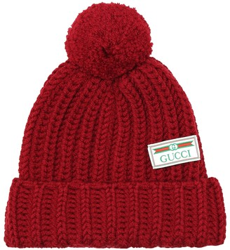 Gucci Ribbed-knit wool beanie