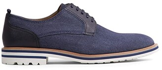 Steve Madden Carlyn Oxford (Navy Fabric) Men's Shoes