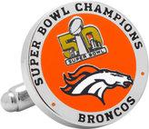 Cufflinks Inc. Men's 2016 Denver Broncos Super Bowl Champions Cufflinks