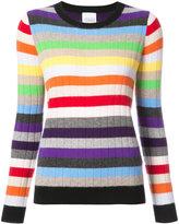 Madeleine Thompson striped cashmere jumper