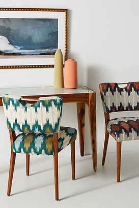 Anthropologie Wyatt Dining Chair By in Orange Size ALL