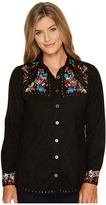 Scully Anaya Beautfully Embroidered Studded Top Women's Clothing