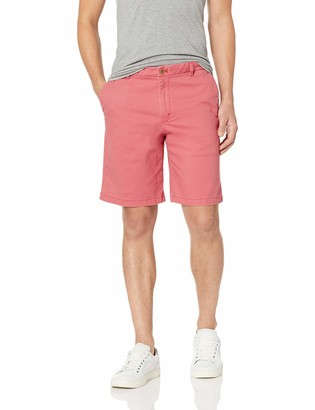 "Izod Men's Saltwater 9.5"" Flat Front Chino Short"