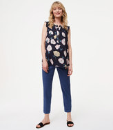 LOFT Maternity Relaxed Trousers