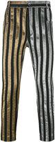 Haider Ackermann striped trousers