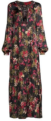 Johnny Was Floral Boho Maxi Dress