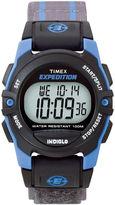 Timex Expedition Gray Nylon Fast Strap Digital Watch T496609J