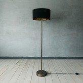 Graham and Green Raw Nickel Floor Lamp
