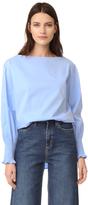 Cédric Charlier Long Sleeve Blouse