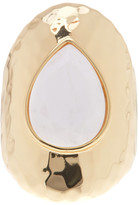 Ariella Collection Teardrop Stone Ring