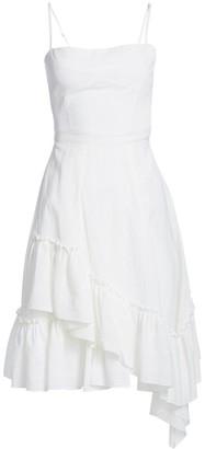 Derek Lam 10 Crosby Ruffled Asymmetric Flare Dress