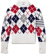 Thom Browne - Argyle Cashmere Sweater