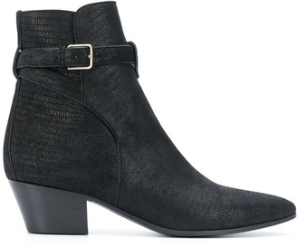 Saint Laurent West Jodhpur ankle boots