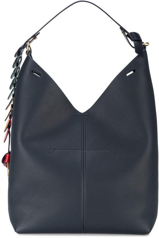 Anya Hindmarch Navy Blue Bucket shoulder bag