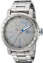 Puma Quartz Stainless Steel Watch, Color:Silver-Toned (Model: PU103961002)