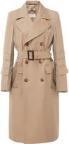 Maison Margiela Double-Breasted Cotton-Gabardine Trench Coat