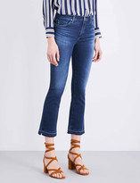 AG Jeans The Jodi Crop released-hem high-rise jeans