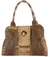 Max Mara Embossed Top Handle Bag