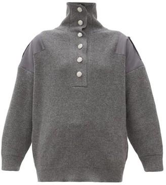 Stella McCartney Oversized Wool Sweater - Womens - Grey