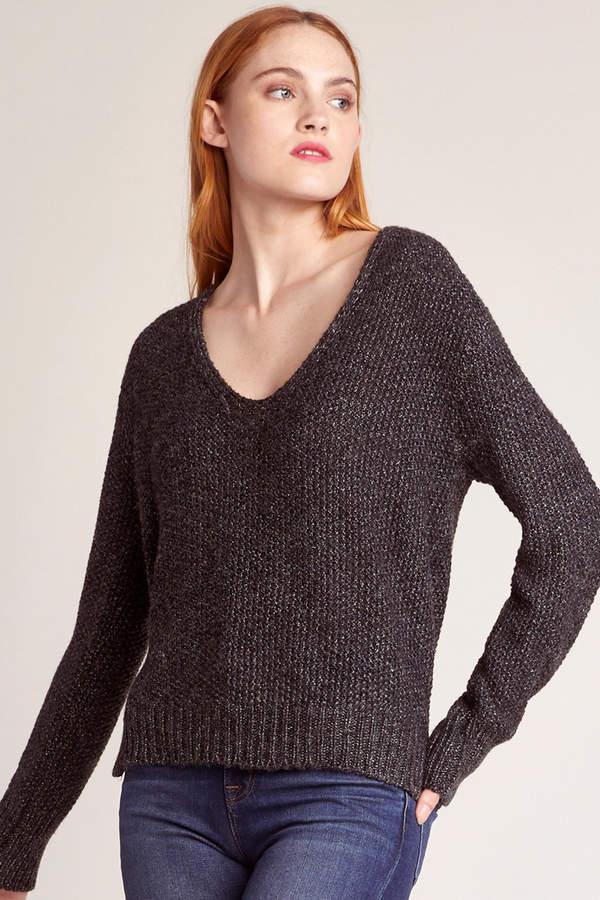 Baby One More Time Vneck Sweater