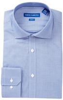 Vince Camuto Geometric Trim Fit Dress Shirt