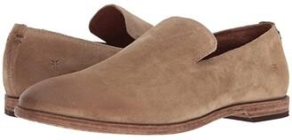 Frye Chris Venetian (Ash Washed Waxed Suede) Men's Shoes