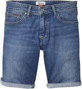 Tommy Hilfiger Men's Tommy Denim Slim Scanton Denim Shorts