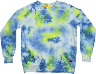 Aviator Nation Tie Dye Crewneck Sweatshirt
