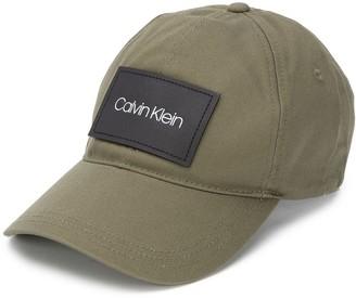 Calvin Klein Logo Patch Baseball Cap