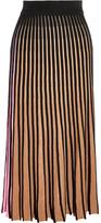 Kenzo Ribbed-knit Skirt - Beige