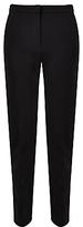 Max Mara Weekend Dodo Slim Trousers, Black