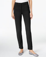 Style&Co. Style & Co. Ponte Slim-Leg Pants, Only at Macy's