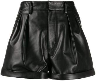 Isabel Marant high-rise turn-up shorts