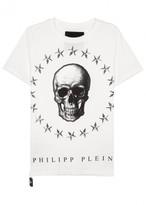 Philipp Plein Around The World Printed Cotton T-shirt