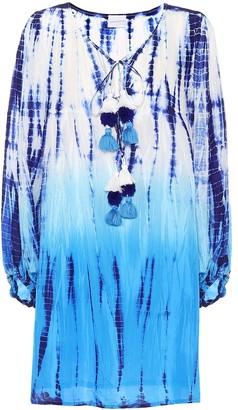 Anna Kosturova Exclusive to Mytheresa a Tie-dye silk dress